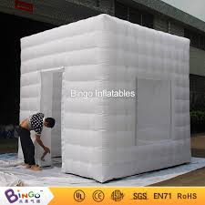 photo booth enclosure white cube portable photo booth tent photo