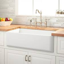 chop white farm kitchen sinks