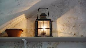 Window Candle Lights Free Images Light Vintage House Window Glass Old Wall