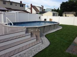 12x24 pool with deck brothers 3 pools aboveground semi inground