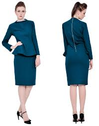 marycrafts womens lady office business party cocktail peplum