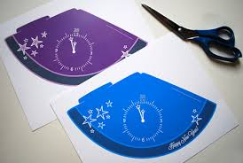 make new year u0027s eve party hats free printable 2012 template
