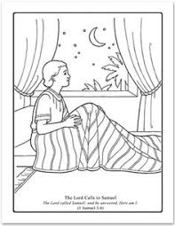 Bible Coloring Pages Samuel Listens To God Bible Journaling Samuel Coloring Pages