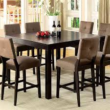 Lovely High Dining Room Table And Chairs  For Unique Dining - High dining room chairs