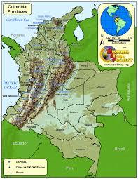 Colombian Map Seeking El Dorado The Impact Of Colombia U0027s 21st Century Gold Rush