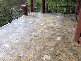 Granite Patio Pavers Mini Pattern Pavers Traditional Patio Detroit By