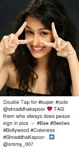 Peace Sign Meme - double tap for super cute tag them who always does peace
