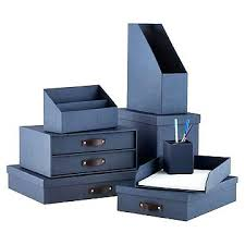 Blue Desk Accessories Office Desk Accessories Navy Marten Collection Office Desk