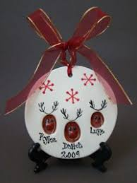 Reindeer Christmas Decorations Pinterest by Adorn Your Tree With This Cute Fingerprint Reindeer Ornament