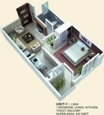 350 sq ft 1 bhk 1t apartment for sale in arsh group eco homes