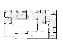 2 Bedroom Condo Floor Plan 36sixty Floor Plans 1 2 Bedroom Luxury Apartments Houston Texas