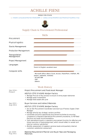 Sample Resume For Procurement Officer by Asset Manager Resume Samples Visualcv Resume Samples Database