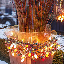 christmas outdoor decorations 50 best outdoor christmas decorations for 2018