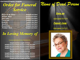 funeral programs templates funeral programs templates novasatfm tk