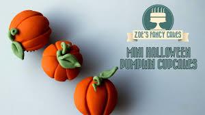 Halloween Cakes Uk by Mini Halloween Pumpkin Cupcakes How To Cake Tutorial Youtube