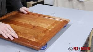 How To Make Kitchen Cabinet Doors From Plywood by Diy Pull Out Trash Can Fixthisbuildthat