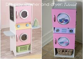 Homemade Play Kitchen Ideas Tutorial A Play Washer And Dryer For My Daughter Diy Tutorial