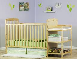 Changing Table Crib Useful Convertible Crib With Changing Table For Baby