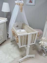 Beige Crib Bedding Set The Wooden Swinging Cradle For Babies White Beige Crib Bedding
