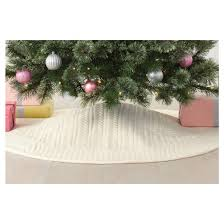 cable knit tree skirt wondershop target