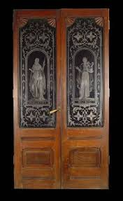 Glass Etching Designs For Kitchen Love Antique Etched Glass Doors Doors I Love Pinterest