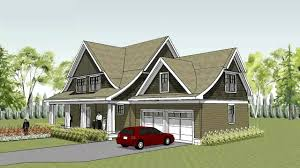 unique cape cod house plan curved roof line lake elmo building