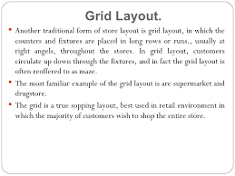 visual layout meaning store design