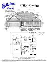 ranch floor plans schalmo custom home builder