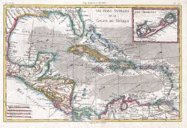 Map Of The Caribbean File 1780 Raynal And Bonne Map Of The West Indies Caribbean And
