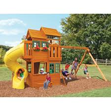 big backyard playsets big backyard grand valley retreat wooden