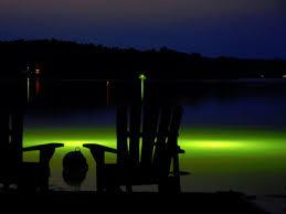 green fishing light