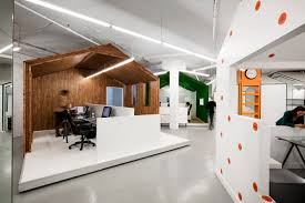 it office design ideas bicom communications jean de lessard archdaily