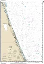 Map Of East Coast Of Florida by Modern Nautical Maps Of Florida 80 000 Scale Nautical Charts