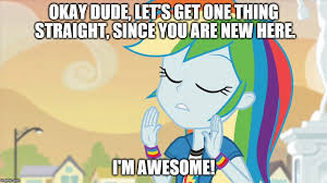 Rainbow Dash Meme - rainbow dash meme by arcgaming91 on deviantart