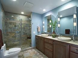 bright bathroom led lighting ideas for bathroom with natural stone