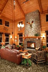 home interiors deer picture log cabin interior designers using wall