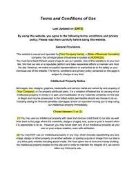 terms u0026 conditions privacy policy for your website u2013 the