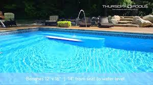 who makes the best fiberglass pool aquaserv pool spa inc thursday pools spirit fiberglass pool design