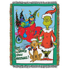 throw by the dr seuss how the grinch stole christmas smile
