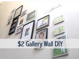 2 gallery wall diy how to create a gallery wall youtube