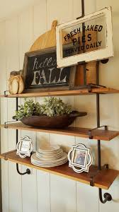 fall dining room industrial shelves u2013 beautiful treasures blog