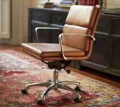 Desk Chair Leather Design Ideas Tufted Leather Office Chair Vintage Search Desk Chairs