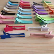 baby barrettes 40 colors available 4 5cm alligator hair clip lined hair