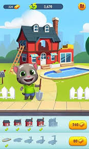 talking android talking tom gold run for android free talking tom