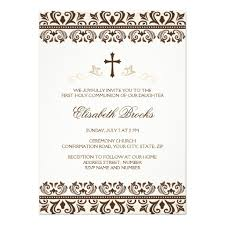 personalized pink confirmation invitations custominvitations4u com