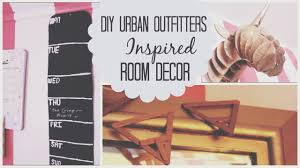 urban outfitters inspired d i y room decor mayllie youtube