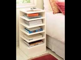 How To Make End Tables With Drawers by Diy Bedside Table Ideas Youtube