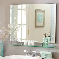 bathroom cool how to frame a bathroom mirror with mosaic tiles