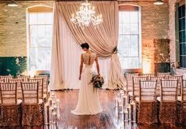 Wedding Backdrop Ideas 23 Industrial Wedding Ceremony Decor Ideas Weddingomania