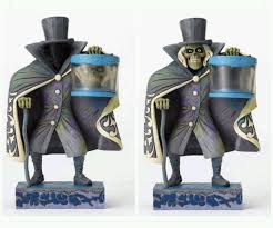 disney parks jim shore haunted mansion hatbox ghost glow in